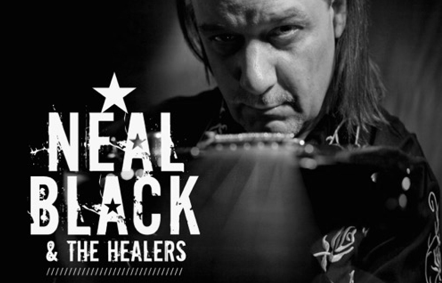 NEAL BLACK & THE HEALERS (Blues Rock / Usa)
